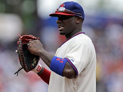 Ryan Howard struggled at first base after he returned from the disabled list in early July. (Matt Slocum/AP file photo)