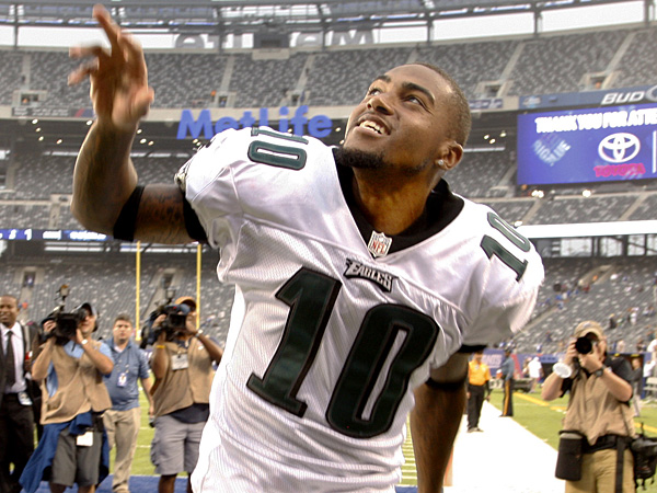 Eagles receiver DeSean Jackson. (Ron Cortes/Staff Photographer)