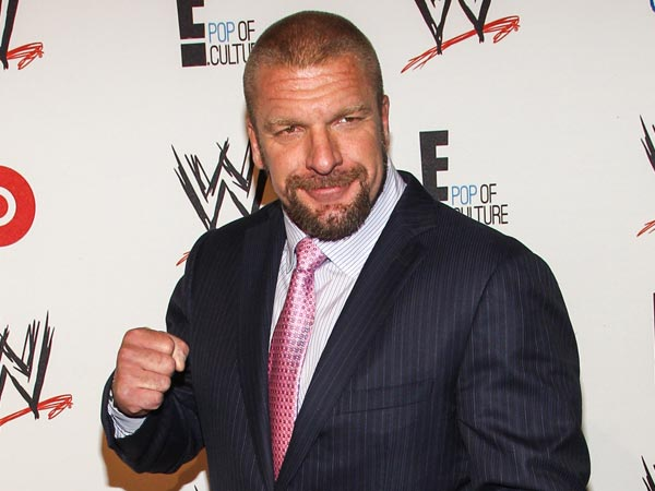 WWE COO Triple H. (Photo by Paul A. Hebert/Invision/AP)<br /><br />