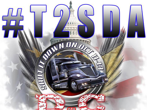 "One organizer, a trucker from Georgia named Earl Conlon, told U.S. News and World Report Monday that ""everybody that doesn´t have a supporter sticker on their window, good luck: Nobody in, nobody out."" The sticker Conlon is referring to must contain ""T2SDA,"" which stands for ""Truckers to Shut Down America."""