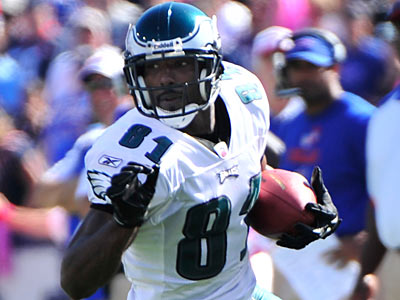 Jason Avant addressed his Eagles teammates at a player-only meeting on Wednesday. (Associated Press)