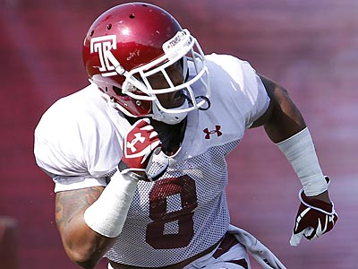 Temple Owls running back Montel Harris (David Maialetti/Staff Photographer)
