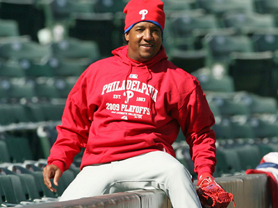 Will Pedro Martinez start Game 2 of the NLCS for the Phillies? (Yong Kim / Staff Photographer)