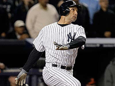 Raul Ibanez hit the game-winning home run to give the Yankees a 2-1 lead over the Orioles in the ALDS. (Kathy Willens/AP)