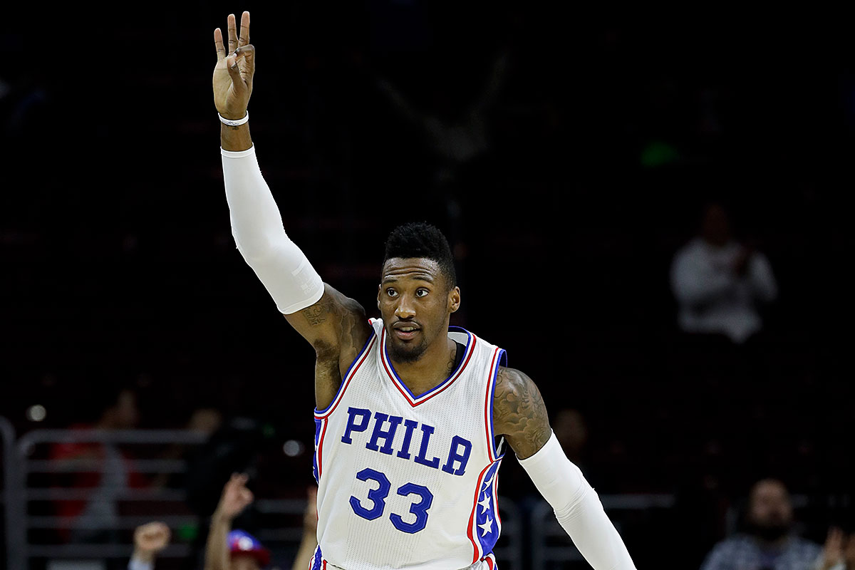 Robert Covington Will Benefit From Playing With Embiid