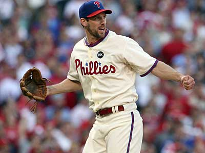 Game 1 winner Cliff Lee will start game 4 of the NLDS Monday, according to Charlie Manuel. (Yong Kim / Staff Photographer)