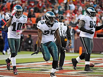 The Eagles beat the 49ers, 27-24, on the road on Sunday. (Clem Murray/Staff Photographer)
