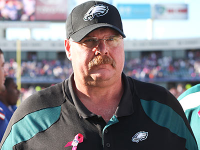 Andy Reid and the Eagles are off to their worst start since the coach came to Philadelphia in 1999. (Steven M. Falk/Staff Photographer)