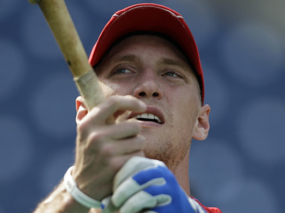 Phillies outfielder Hunter Pence posted on Twitter today that his surgery went well. (Associated Press)