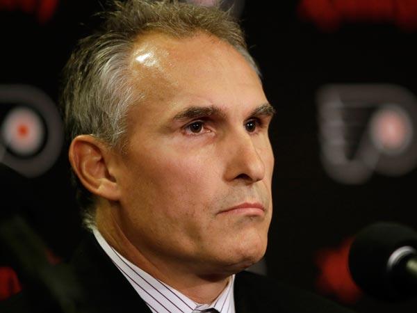 Flyers coach Craig Berube. (Matt Slocum/AP)