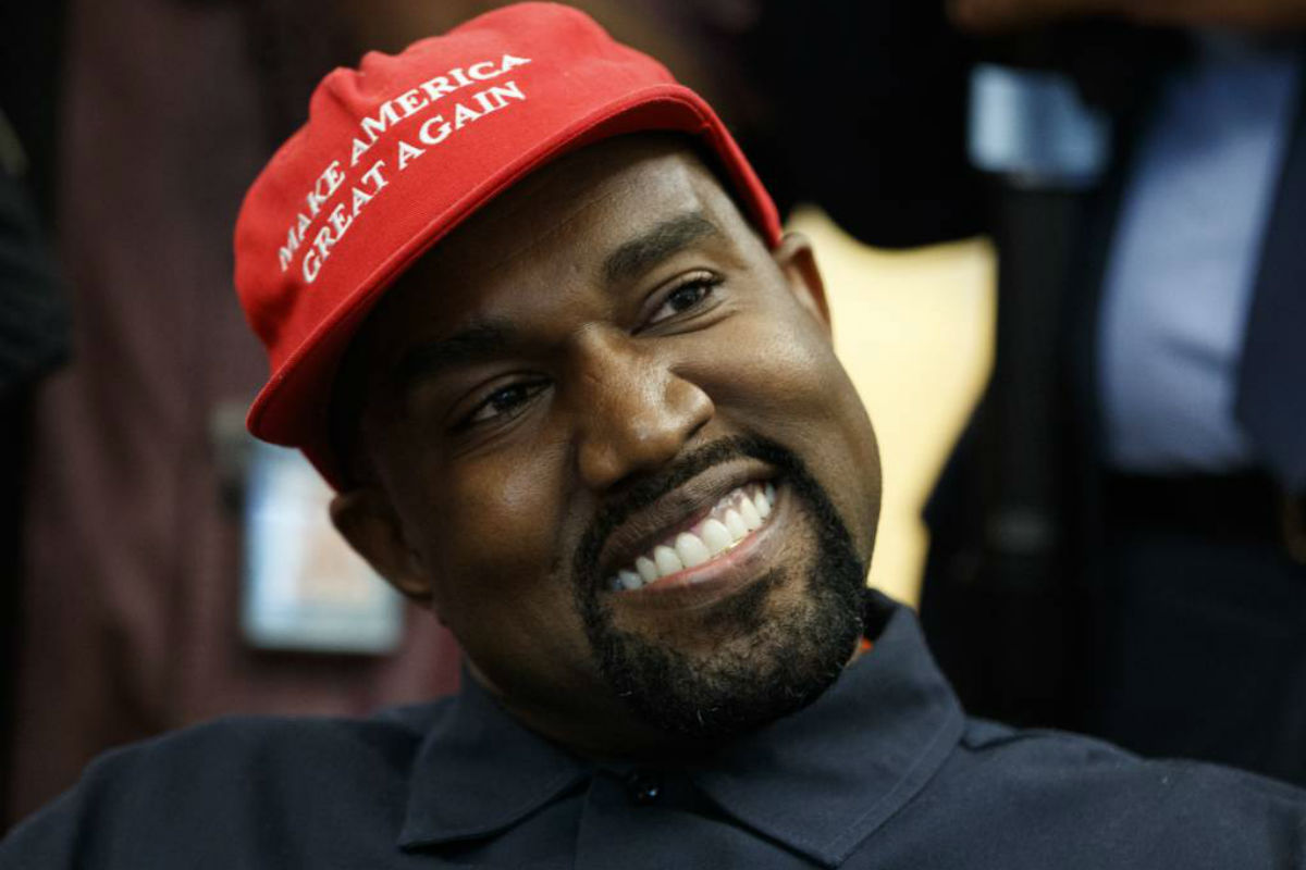 Kanye West, in 'MAGA' hat, delivers surreal Oval Office show