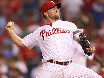 Brad Lidge may return in June or July. (Michael Bryant/Staff file photo)