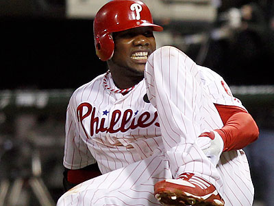 Ryan Howard will miss five to six months after having surgery to repair his torn Achilles. (Yong Kim/Staff Photographer)