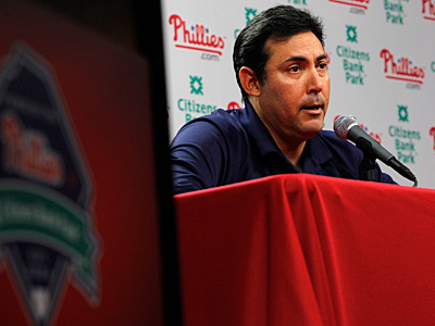 Ruben Amaro Jr. faces a big test this offseason after the 2011 Phillies failed team expectations. (Alejandro A. Alvarez/Staff Photographer)