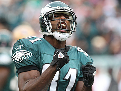 Jason Avant is in his sixth season with the Eagles. (Steven M. Falk/Staff Photographer)