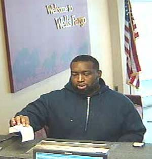 Photo from bank surveillance video.