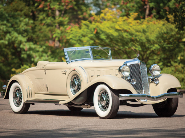 A 1933 roadster fetched more than $700,000 at a classic-car auction in Hershey in 2013.