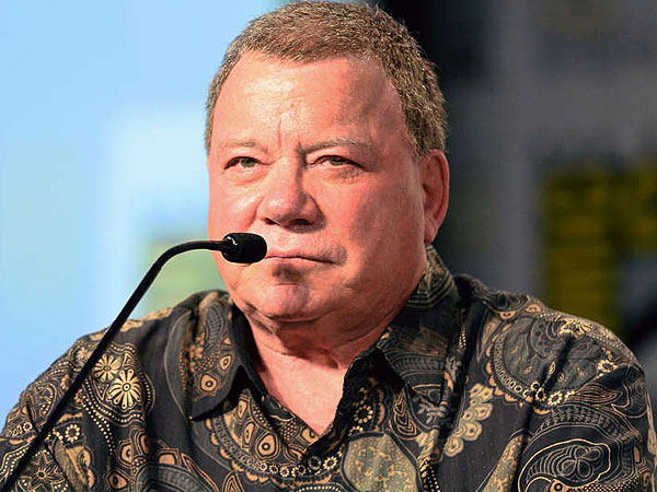 """The spoken word, I´ve always felt, is music,"" William Shatner says. His concept album, ""Ponder the Mystery,"" features former members of Yes. (Ethan Miller/Getty Images)"