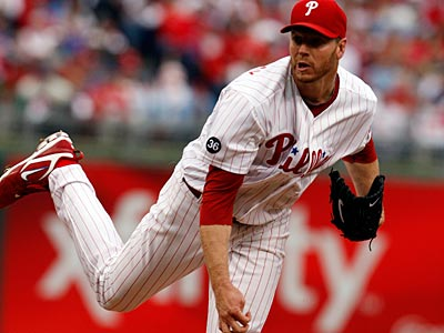 Roy Halladay threw a perfect game and a no-hitter on his way to winning the NL Cy Young in 2010. (Ron Cortes / Staff File Photo)
