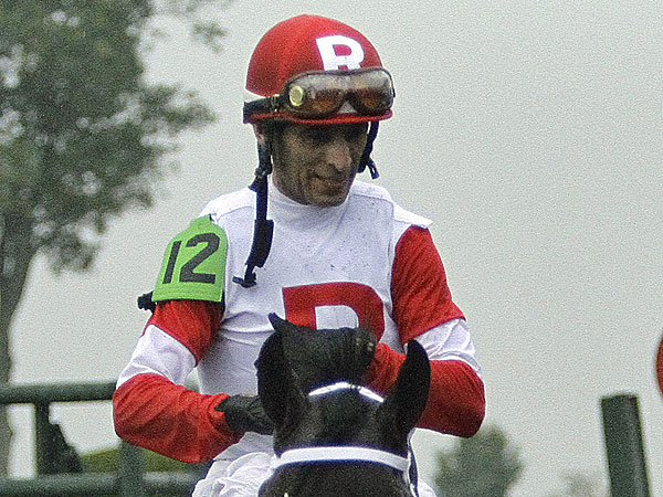 Jockey John Velazquez. (Garry Jones/AP)