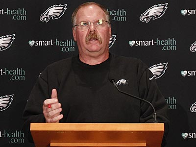 Head coach Andy Reid and the Eagles are 3-3 heading into their bye week. (David Maialetti/Staff Photographer)