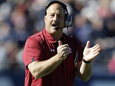 """They look great to me,"" Temple coach Steve Addazio said about No. 19 Rutgers, his team´s next opponent. (Michael Dwyer/AP)"