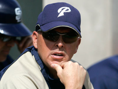 Wally Joyner served as the Padres´ batting coach from 2007-2008 (Lenny Ignelzi/AP file photo)