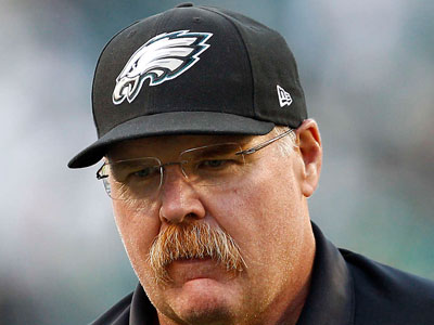 Andy Reid has two weeks to get the Eagles´ act together. (David Maialetti/Staff Photographer)