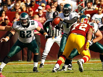 The Eagles defeated the Redskins, 20-13, on Sunday for their second win of the season. (Yong Kim/Staff Photographer)
