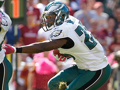 Eagles running back LeSean McCoy turns 24 in July. (Ron Cortes/Staff Photographer)