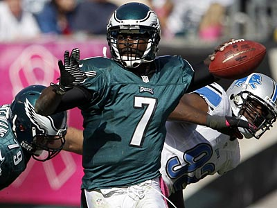 If Michael Vick regains some swagger in New Orleans, the Eagles are 4-4 at midseason. (Yong Kim/Staff Photographer)