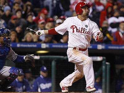 """I´m sure I´ll be hitting in multiple positions,"" Shane Victorino said about the 2010 season. (Ron Cortes/Staff file photo)"