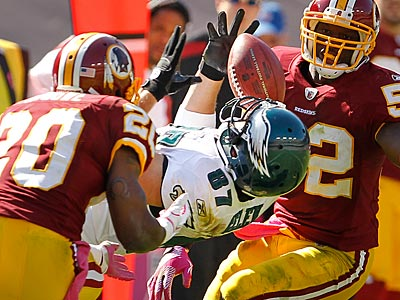 Eagles tight end Brent Celek had four catches for 42 yards against the Redskins. (Ron Cortes/Staff Photographer)