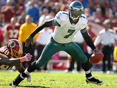 Can Michael Vick and the Eagles build on their Week 6 win over the Redskins? (Ron Cortes/Staff Photographer)