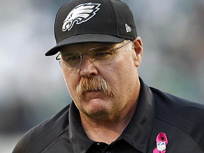 Andy Reid´s Eagles are 3-3 and coming off back-to-back losses heading into their bye week. (David Maialetti/Staff Photographer)