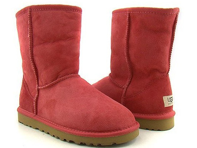 Red Uggs have become a phenomena in Philadelphia, especially with the Phillies in the playoffs. (Photo courtesy of UGG Australia)