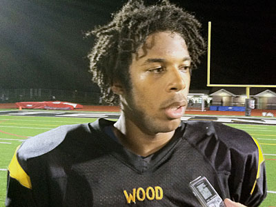 Nate Smith returned six kicks for touchdowns last season at Archbiship Wood High School. (File photo)