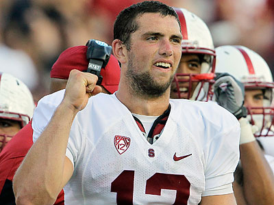 NFL Network analyst Mike Mayock rates Stanford´s Andrew Luck as the best quarterback in this year´s draft. (Gerry Broome/AP file photo)