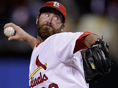As the closer for the Cardinals, Jason Motte has succeeded in getting them to the World Series. (Matt Slocum/AP)