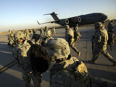 After nine years in Iraq, President Obama says the troops will be withdrawn by the end of the year.