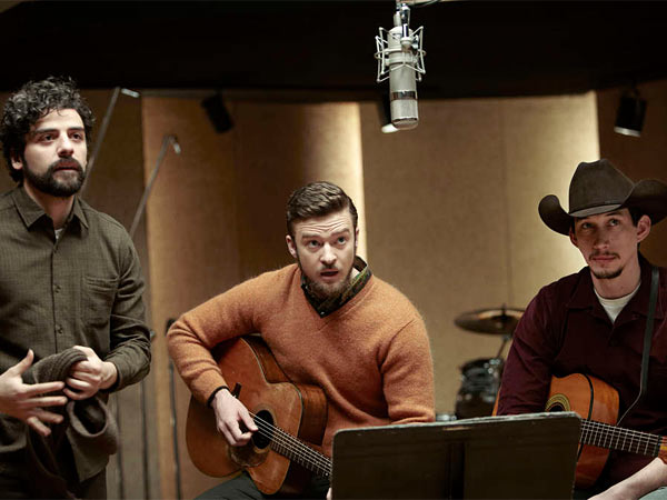 "Oscar Isaac (from left), Justin Timberlake and Adam Driver in a scene from ""Inside Llewyn Davis."""
