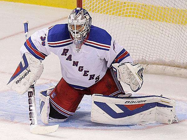 Rangers goalie Henrik Lundqvist. (Julie Jacobson/AP)