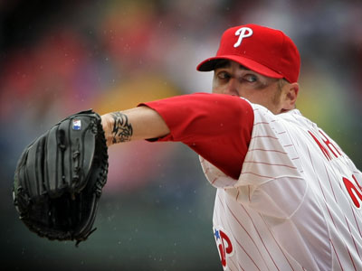 <b>Rich Hofmann says:</b> For the Phillies, Game 2 is the upside game. Game 2, with Brett Myers starting, is the one where they can answer the trial balloon they just floated with their opening victory. (Jerry Lodriguss / Staff Photographer)