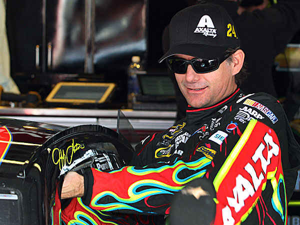 Jeff Gordon. (Jay Alley/AP)