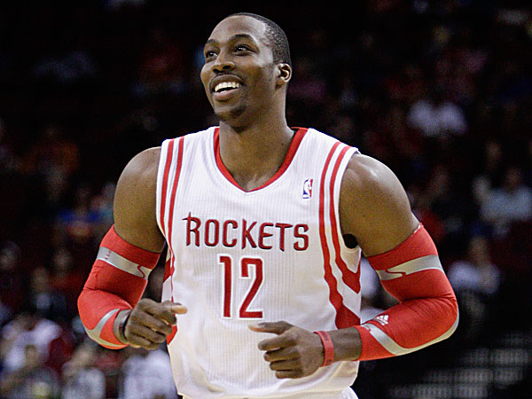 Rockets center Dwight Howard. (Bob Levey/AP)