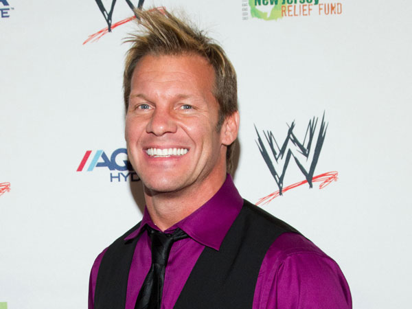 Chris Jericho attends the Superstars For Sandy Relief Event, on thursday, April 4, 2013 in New York, NY. (Photo by Dario Cantatore/Invision/AP)