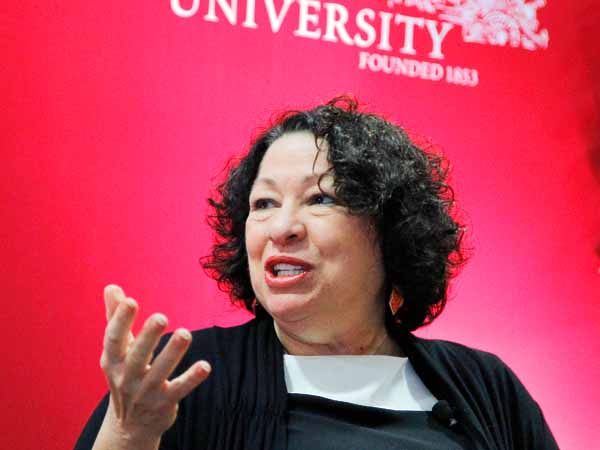 Supreme Court Justice Sonia Sotomayor has blocked implementation of portions of President Obama´s health care law that would have forced some religion-affiliated organizations to provide health insurance for employees that includes birth control. ( RON CORTES / Staff Photographer ).