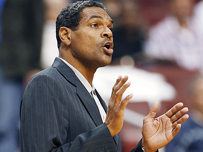 The Sixers fired head coach Maurice Cheeks today, replacing him with director of player personnel Tony DiLeo. (Tom Mihalek/AP)