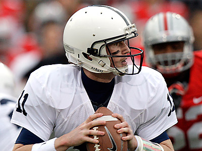 Matt McGloin will lead Penn State against Ohio State at Beaver Stadium on Saturday. (Jay LaPrete/AP file photo)