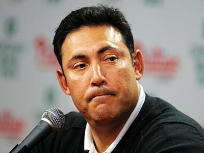 Phillies GM Ruben Amaro Jr. met with reporters after the Nationals signed Jayson Werth. (Sarah J. Glover / Staff Photographer)